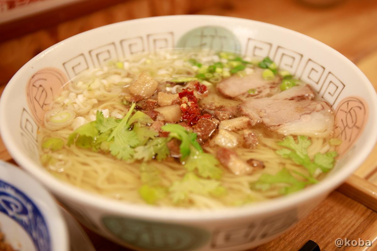 タンツーメンの写真|赤丸(あかまる)ランチ 台湾料理店・ラーメン|東京都葛飾区・新小岩