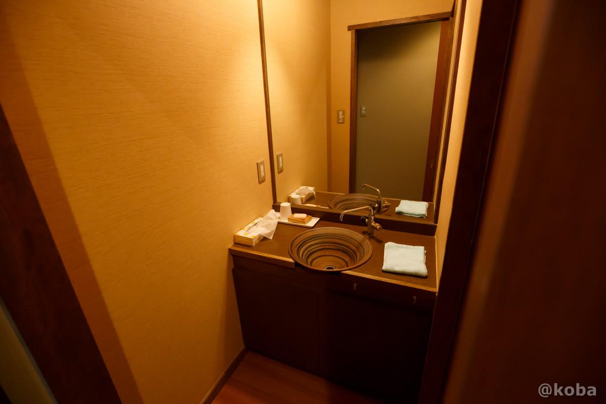洗面所の写真|滝沢温泉 滝沢館|日本秘湯を守る会|群馬県
