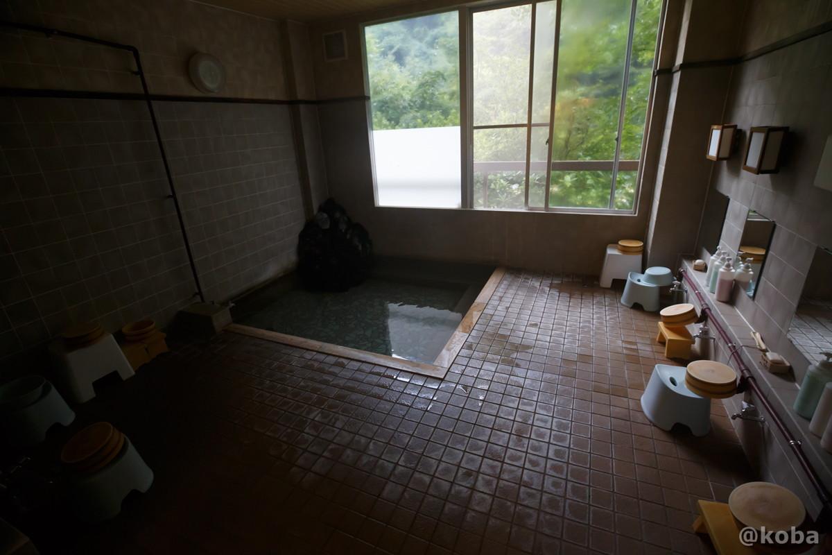 浴室の写真|滝沢温泉 滝沢館|日本秘湯を守る会|群馬県