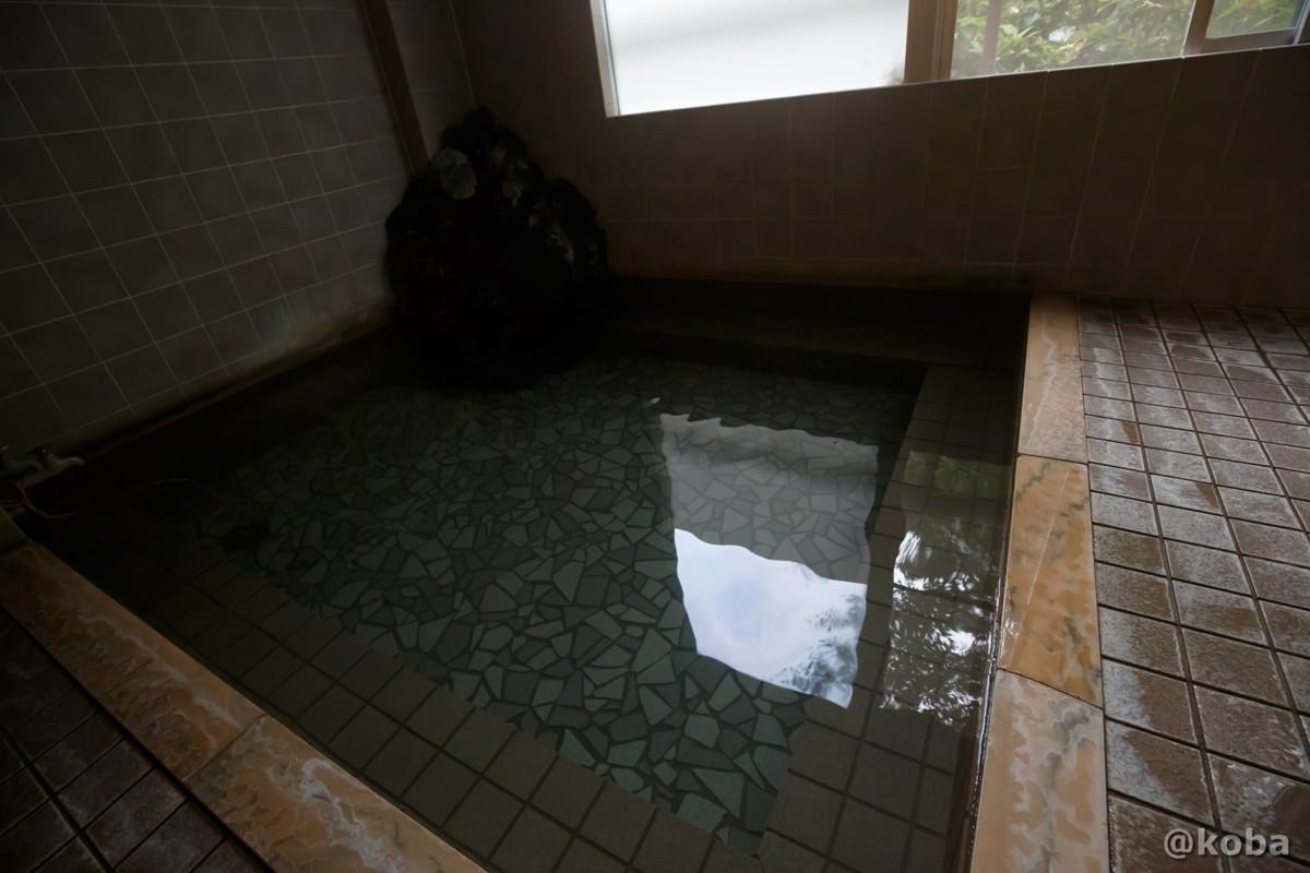 浴槽の写真|滝沢温泉 滝沢館|日本秘湯を守る会|群馬県