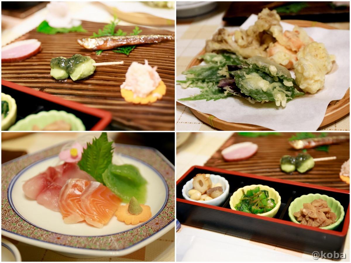 夕食の写真|滝沢温泉 滝沢館|日本秘湯を守る会|群馬県