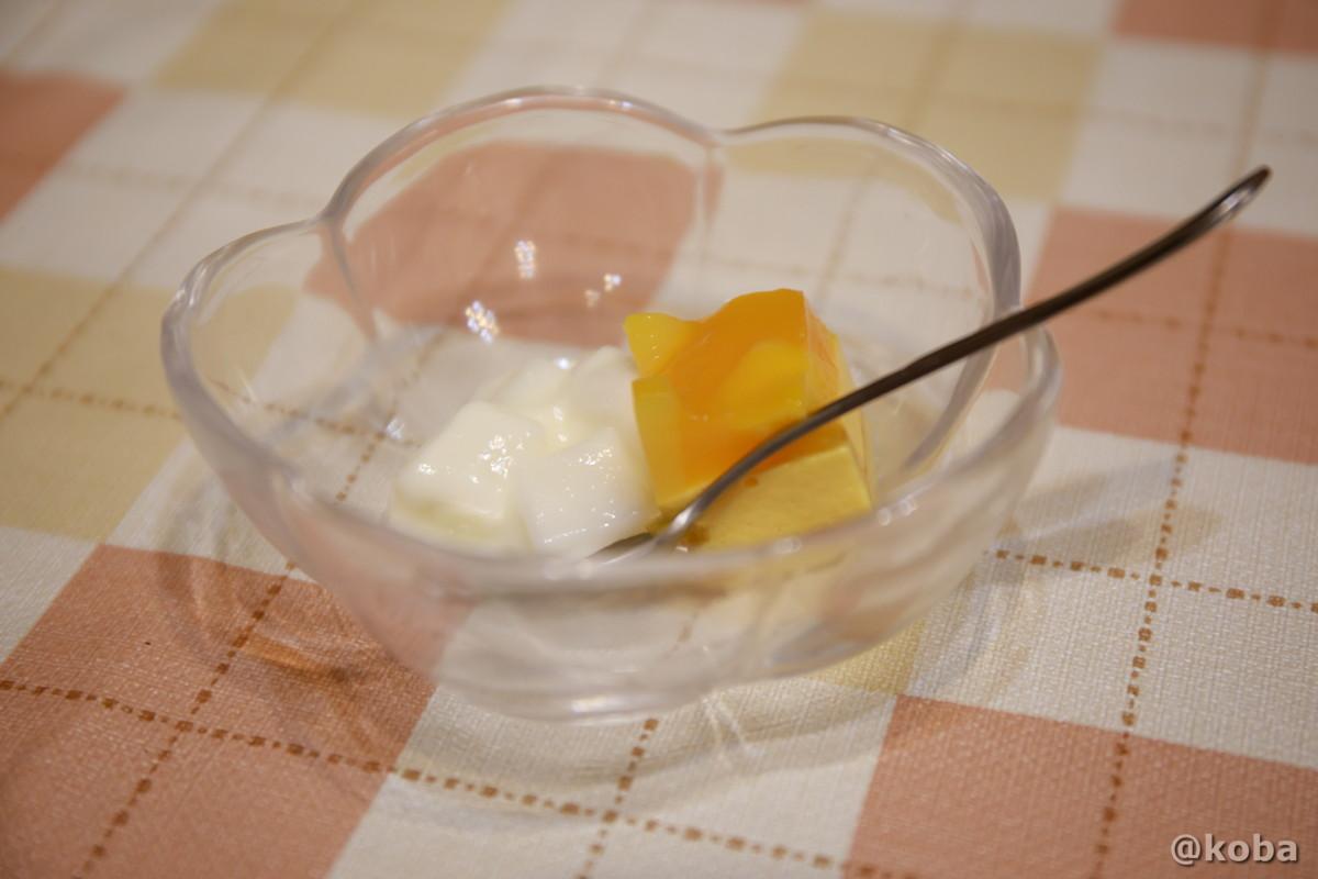 デザートの写真|滝沢温泉 滝沢館|日本秘湯を守る会|群馬県