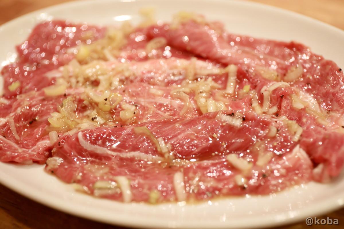 ほっぺ肉の写真 綺麗な肉|ホルモン平田 別館(ほるもんひらた べっかん)|焼肉店・七輪炭火|東京都葛飾区・JR新小岩