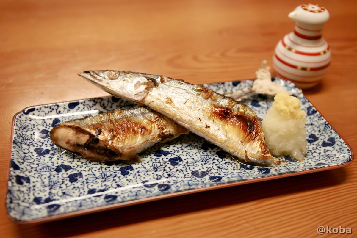 秋刀魚塩焼き(サンマ)の写真|たんひょう亭(タンヒョウテイ) 谷中 和食ランチ 食事処|東京都台東区・日暮里駅