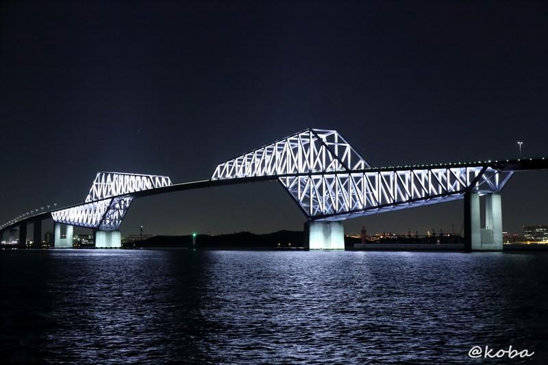 東京ゲートブリッジ夜景の写真|こばフォトブログ