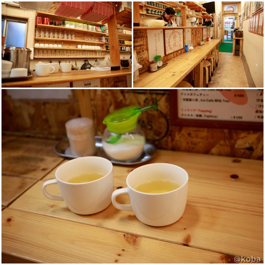 温かいウーロン茶の写真|赤丸(あかまる)ランチ 台湾料理店|東京都葛飾区・新小岩