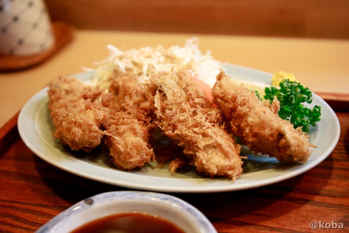 牡蠣フライの写真|割烹 てつむら|和食ランチ 食事処|東京都葛飾区・新小岩