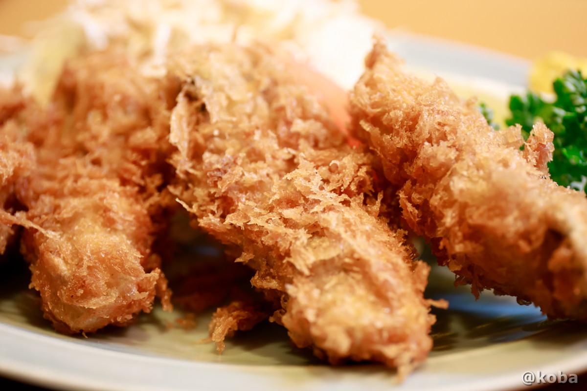 カキフライの写真|割烹 てつむら|和食ランチ 食事処|東京都葛飾区・新小岩