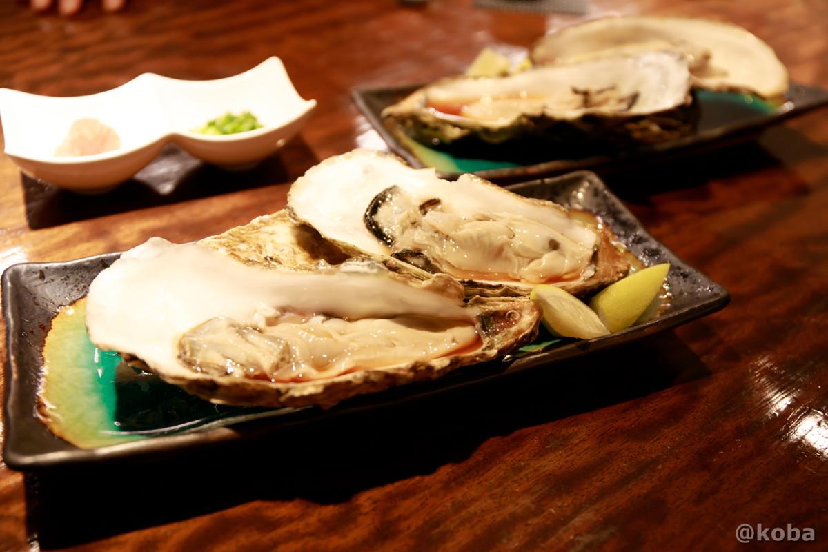 生カキの写真|福島(ふくしま)和食 海鮮料理|東京都葛飾区・新小岩