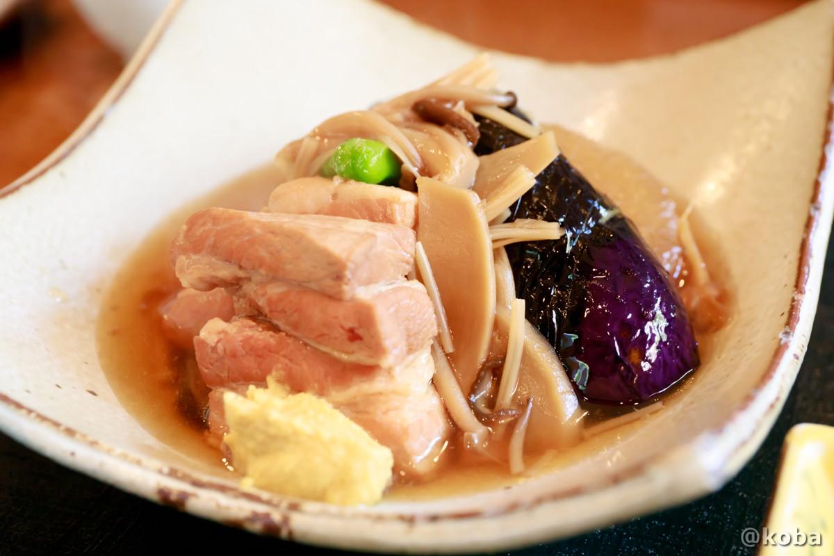 豚バラ肉と大根の煮物の写真|天ぷら割烹 うさぎ(テンプラカッポウ ウサギ)和食ランチ 食事処|東京都葛飾区・京成青砥駅