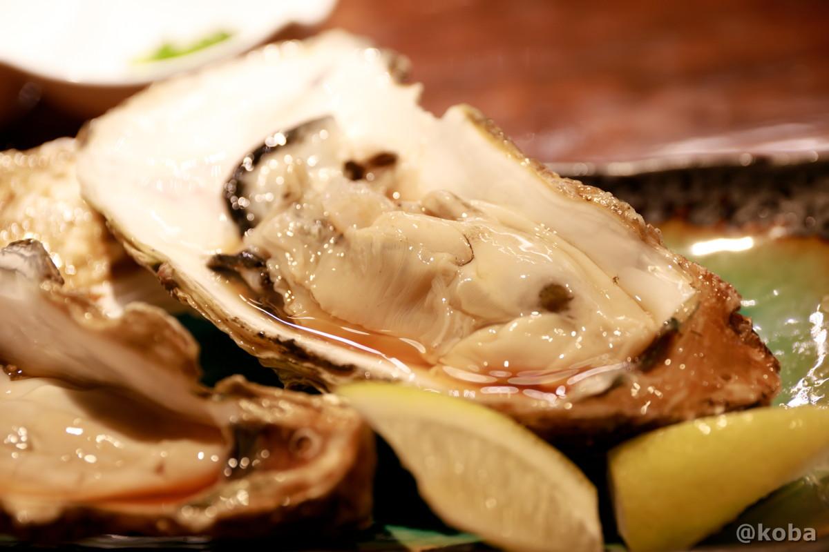 生牡蠣(北海道・厚岸産)の写真|福島(ふくしま)和食 海鮮料理|東京都葛飾区・新小岩|コバフォトブログ