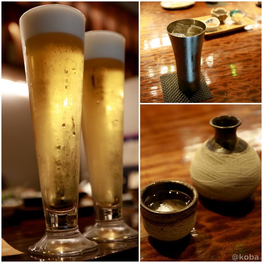熱燗 生ビール ハイボールの写真|福島(ふくしま)和食 海鮮料理|東京都葛飾区・新小岩