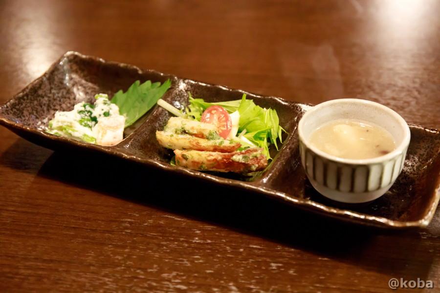 お通しの写真|六人衆(ろくにんしゅう) ROKUNIN SYU 日本酒 居酒屋|東京都江戸川区・小岩|コバブログ