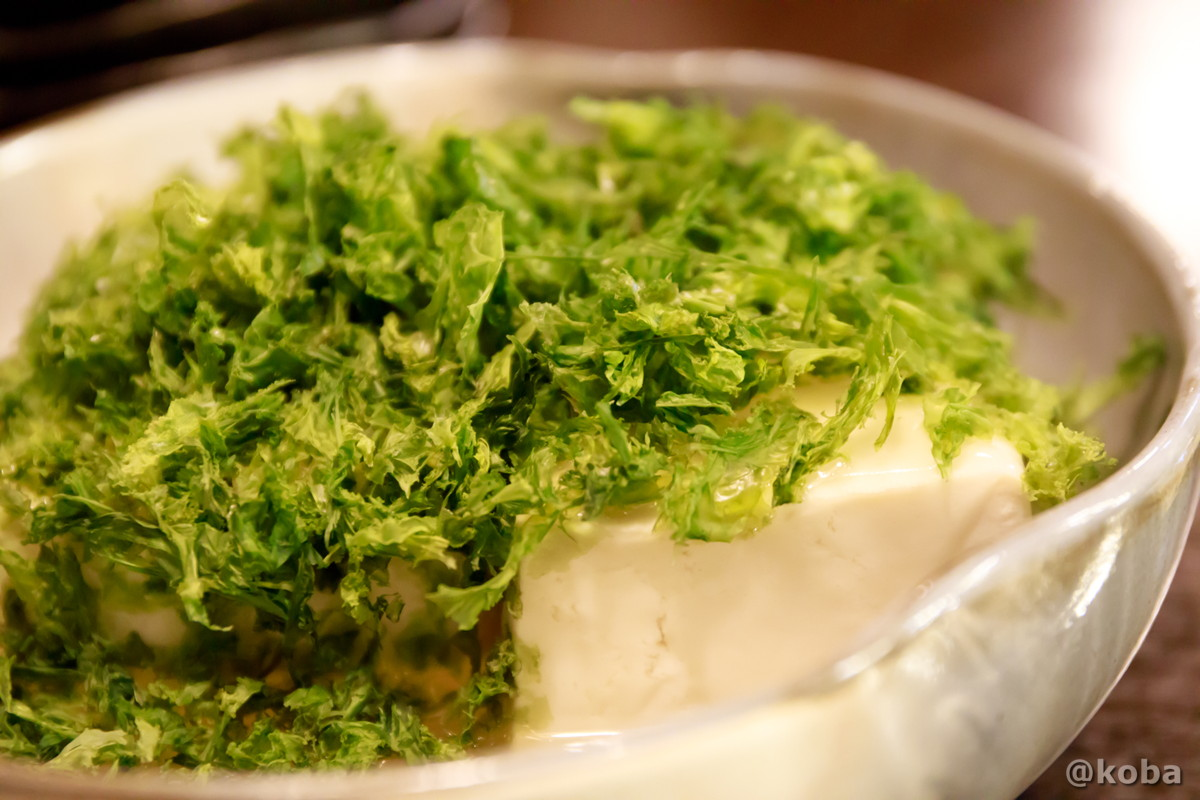 香ばしいのりとうふの写真|六人衆(ろくにんしゅう) ROKUNIN SYU 日本酒 居酒屋|東京都江戸川区・小岩|コバフォトブログ