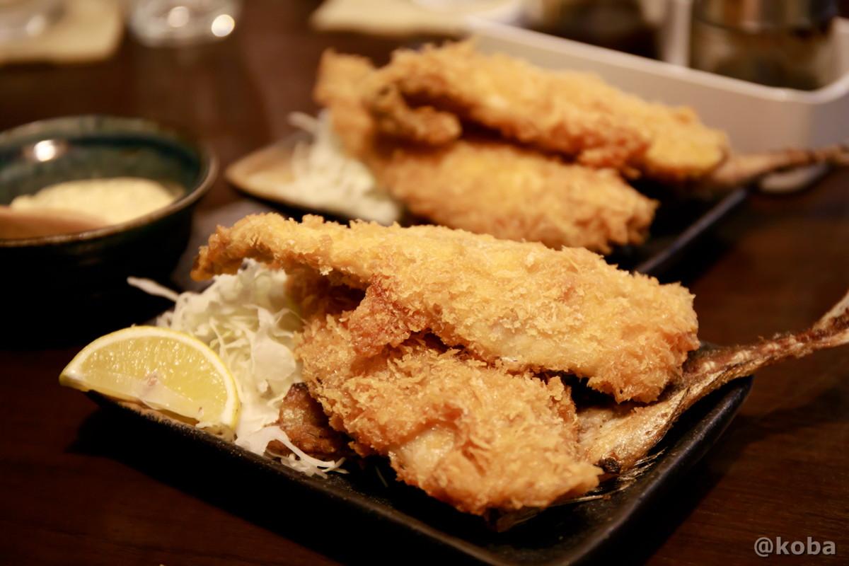 鯵フライの写真|六人衆(ろくにんしゅう) ROKUNIN SYU 日本酒 居酒屋|東京都江戸川区・小岩
