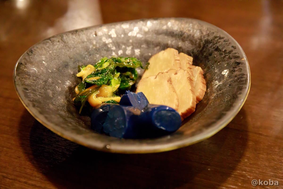 漬物の盛り合わせの盛り合わせの写真|六人衆(ろくにんしゅう) ROKUNIN SYU 日本酒 居酒屋|東京都江戸川区・小岩