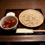 堀切菖蒲園「鴨と焦がしネギの旨味♪」手打ち蕎麦 人と木