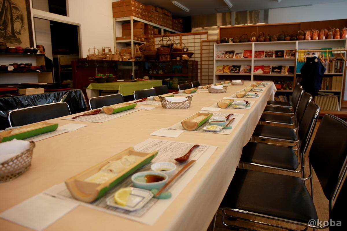 二階 テーブル席の写真|宇豆基野(うずきの)本店 湯葉懐石ランチ 豆腐料理店|東京都足立区・北千住|こばブログ