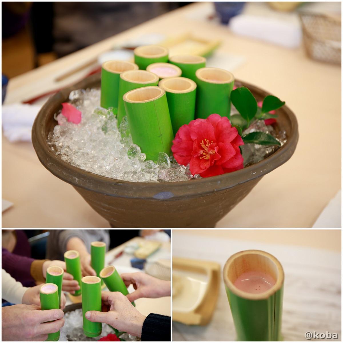 食前 苺と豆乳ジュースの写真|宇豆基野(うずきの)本店 湯葉懐石ランチ 豆腐料理店|東京都足立区・北千住|こばブログ