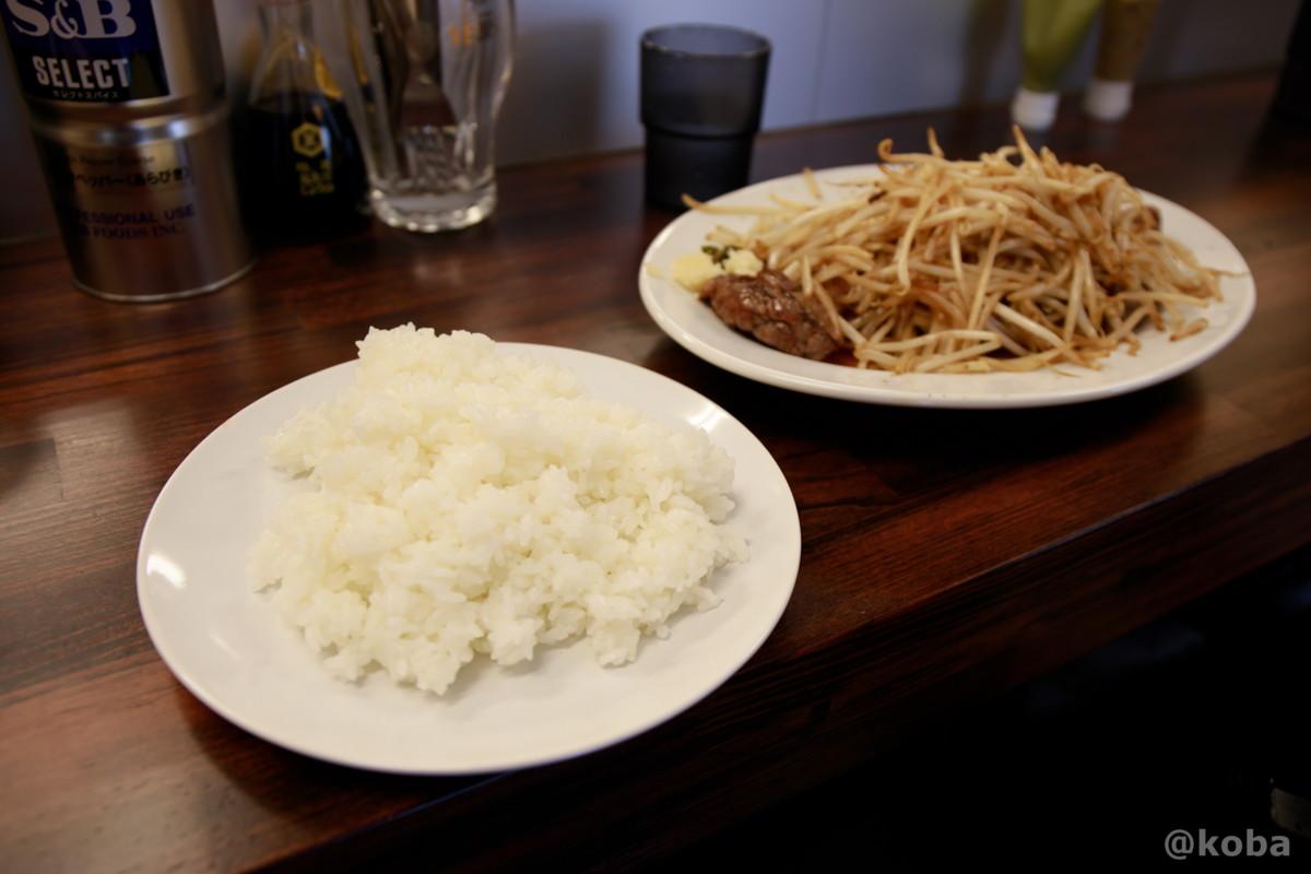 ライス大盛りと1ポンドステーキの写真|コメトステーキ(米とステーキのお店) |東京都葛飾区・新小岩駅・松島|こばブログ