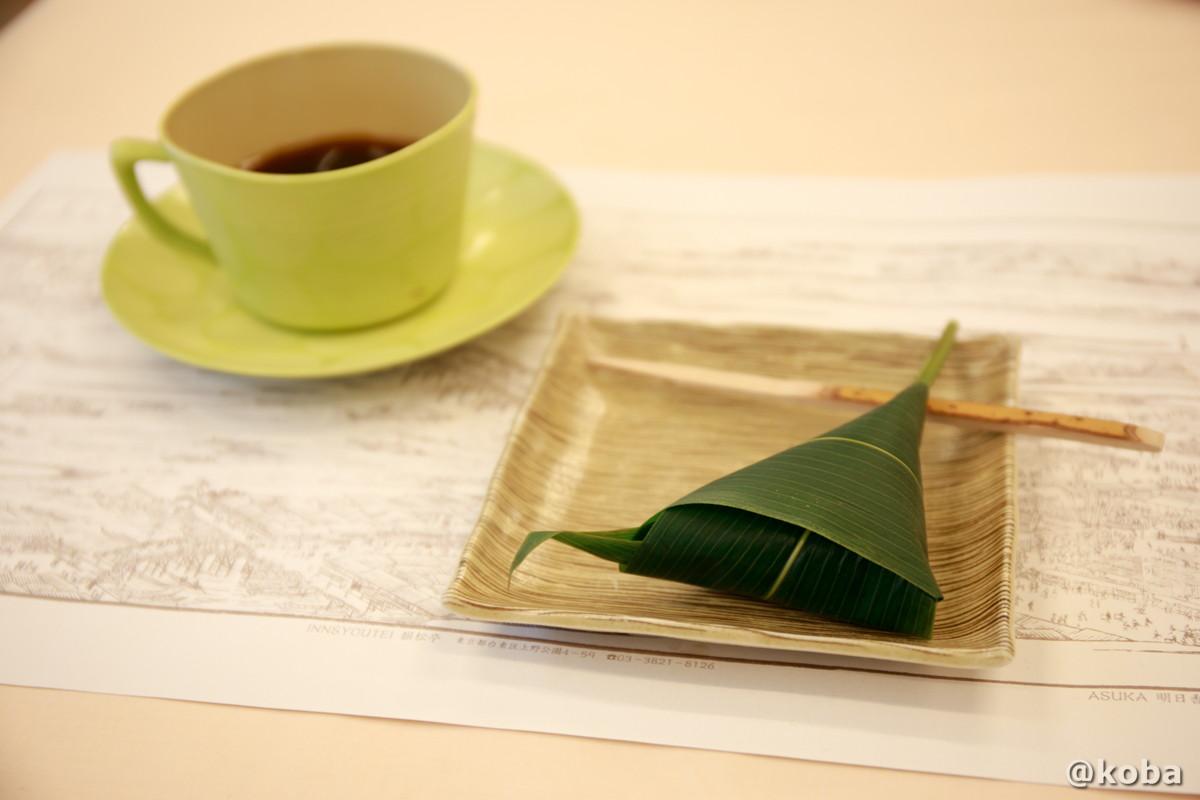 甘味 麩饅頭(ふまんじゅう)とコーヒーの写真|宇豆基野(うずきの)本店 湯葉懐石ランチ 豆腐料理店|東京都足立区・北千住|こばブログ