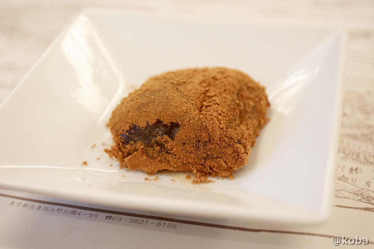 わらび餅 シナモンの香りが良い|宇豆基野(うずきの)本店 湯葉懐石ランチ 豆腐料理店|東京都足立区・北千住|こばブログ