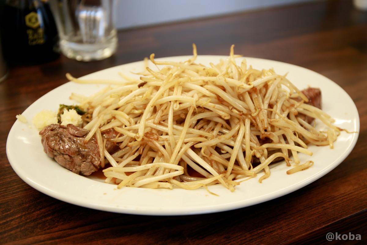 1ポンドステーキ野菜多めの写真|コメトステーキ(米とステーキのお店) |東京都葛飾区・新小岩駅・松島|こばブログ