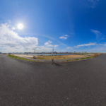 東四つ木避難橋付近から観た、スカイツリーです。|360°パノラマ画像|東京都墨田区押上|Canon EOS 6D_EF8-15mm F4L Fisheye USM|こばフォトブログ