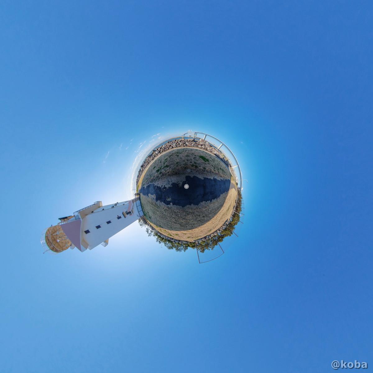 東京ゲートブリッジ「若洲公園」|360°リトルプラネット画像|東京都江東区若洲|こばフォトブログ