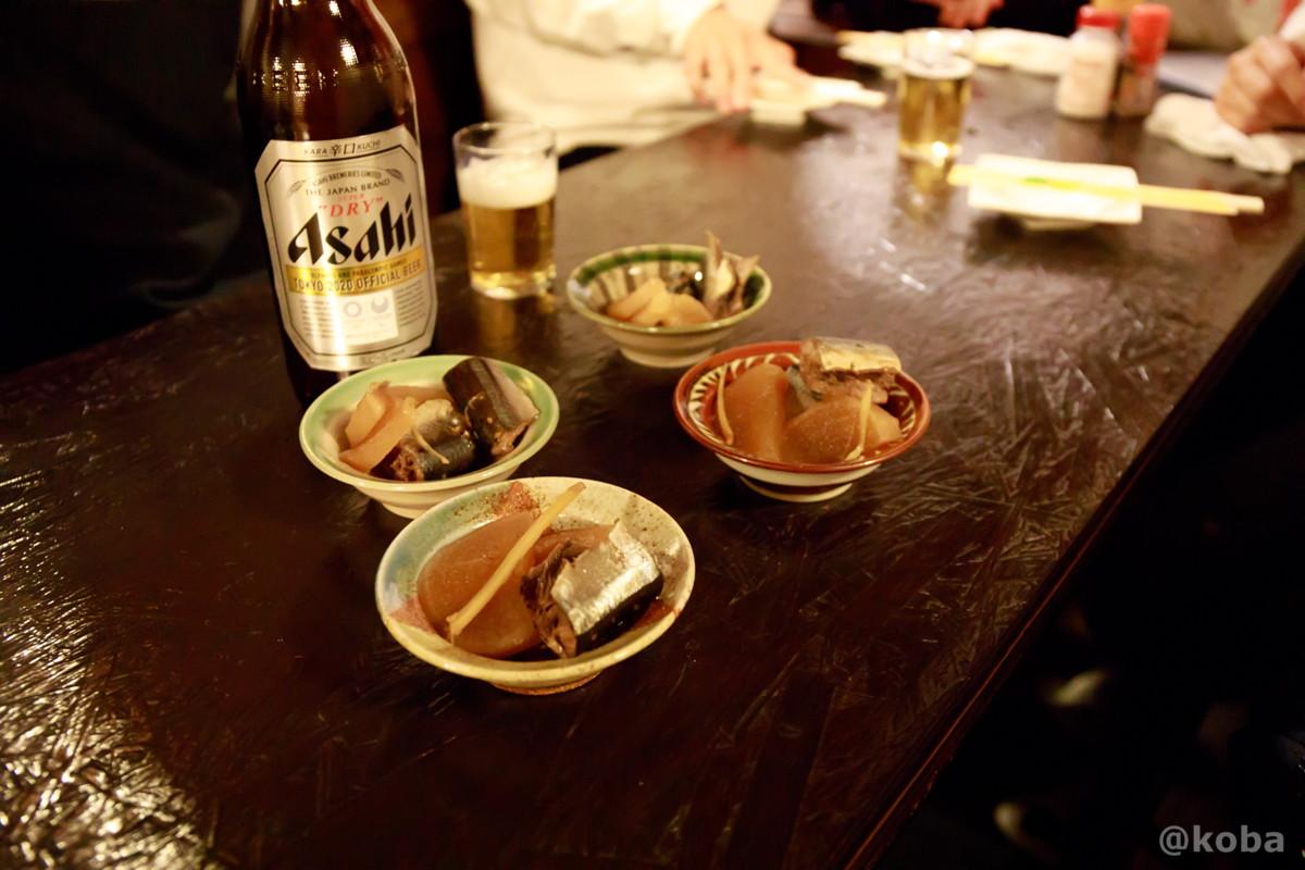 お通しの写真 酒蔵 庵(いおり)昭和 居酒屋 東京都葛飾区・新小岩 こばブログ