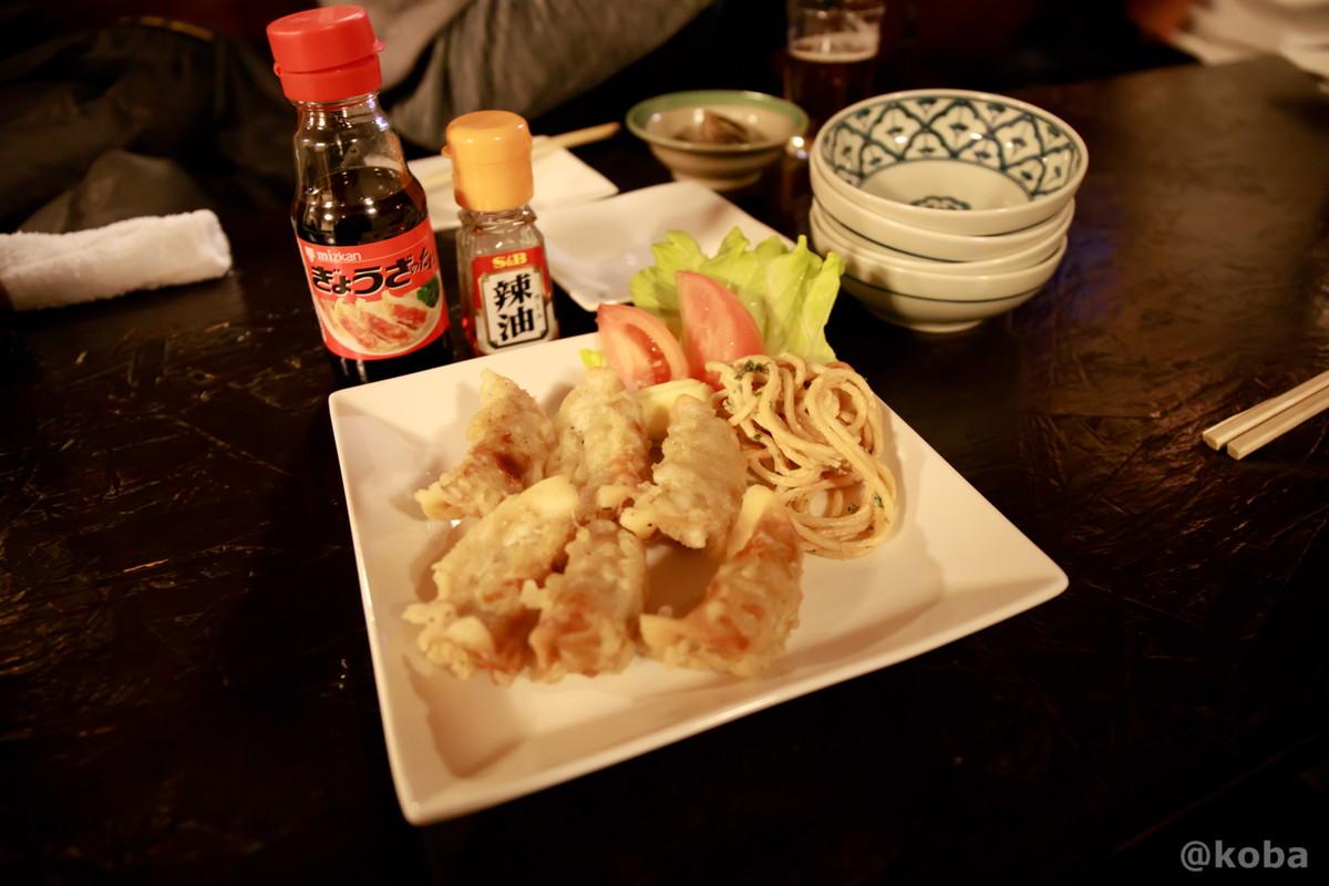 揚げ餃子の写真 酒蔵 庵(いおり)昭和 居酒屋 東京都葛飾区・新小岩 こばブログ