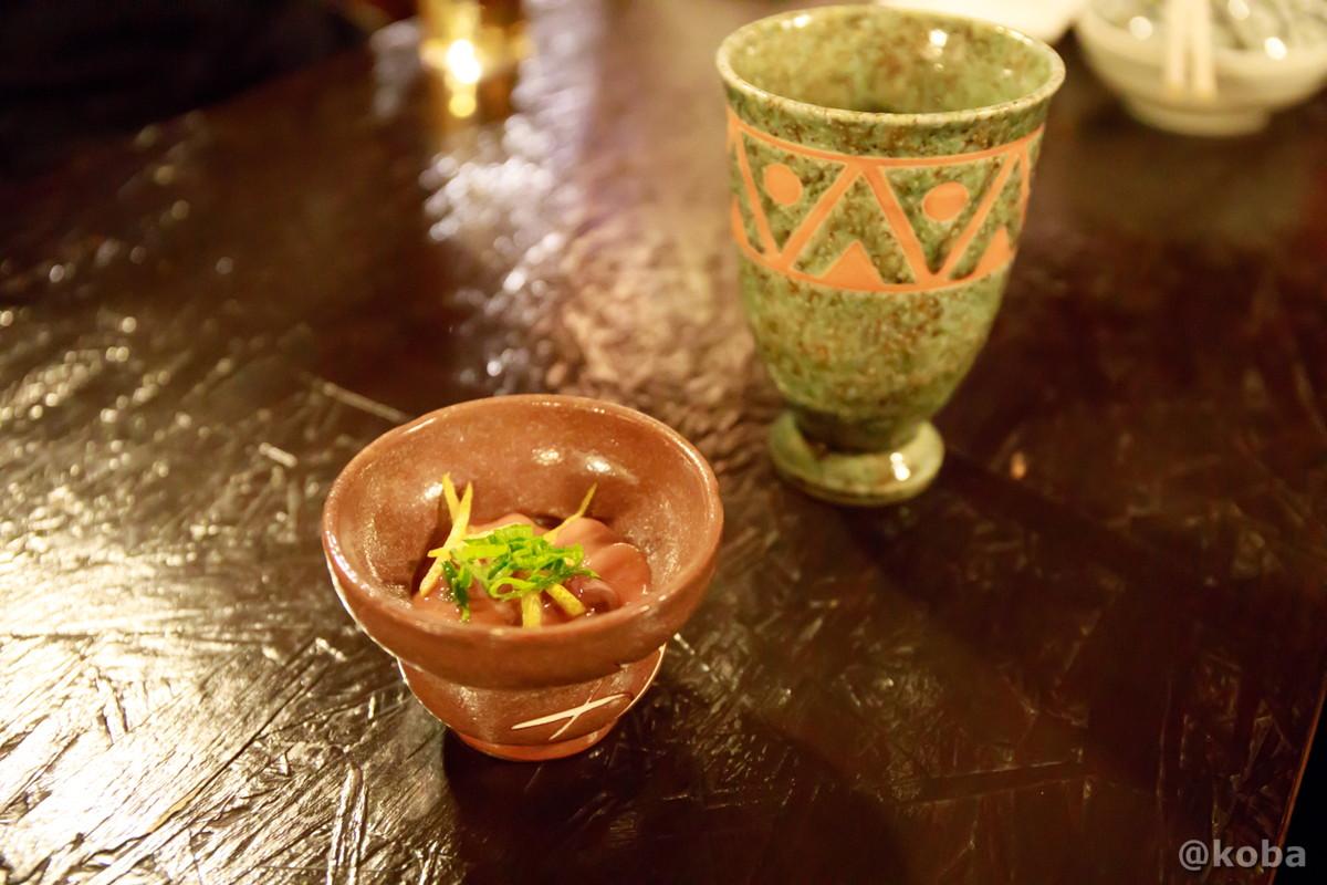 塩辛の写真 酒蔵 庵(いおり)昭和 居酒屋 東京都葛飾区・新小岩 こばブログ