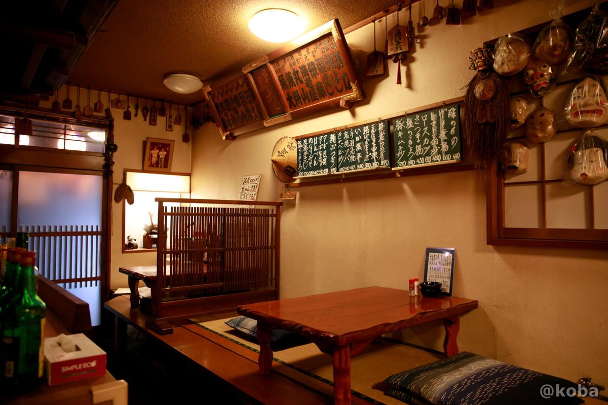 内観小上がりテーブル席の写真 酒蔵 庵(いおり)昭和 居酒屋 東京都葛飾区・新小岩 こばブログ