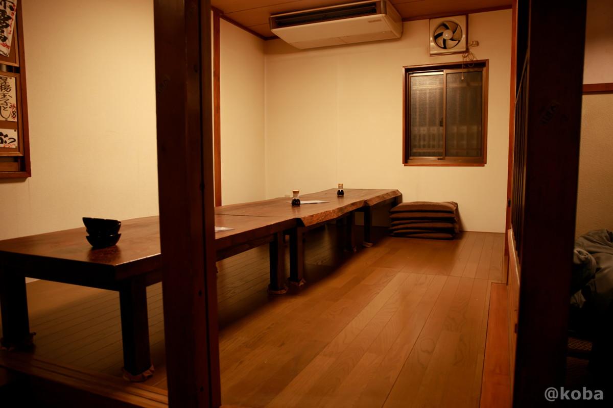 内観 座敷席の写真 酒蔵 庵(いおり)昭和 居酒屋 東京都葛飾区・新小岩 こばブログ