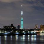 FINAL FANTASY Ⅶ REMAKEのコラボ特別ライティングの写真|東京スカイツリー|葛飾区・中川|こばブログ