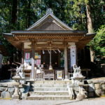 檜原村「九頭龍神社」3月の写真
