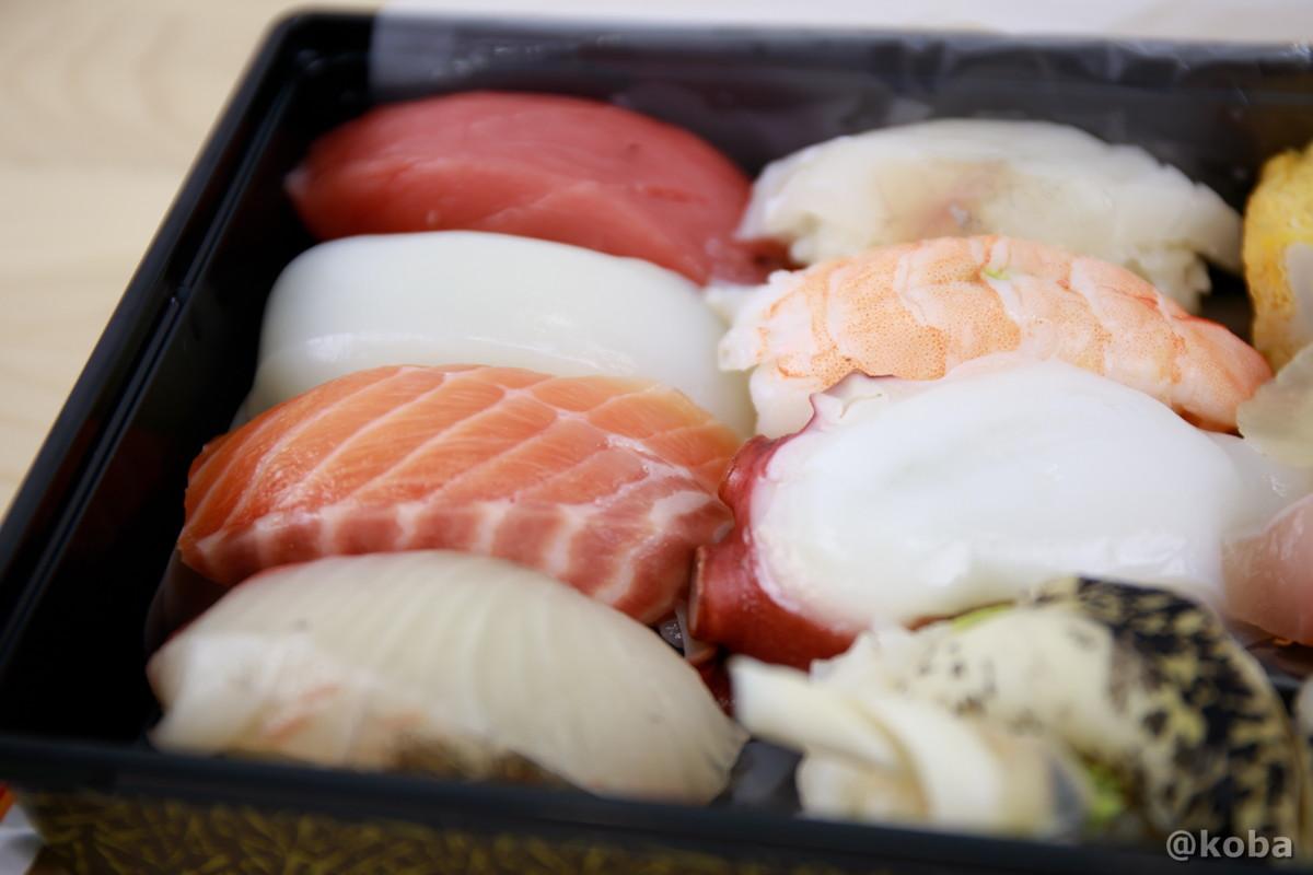 握り寿司の写真|玉寿司(たまずし)テイクアウト ランチ|東京都葛飾区・新小岩|こばフォトブログ