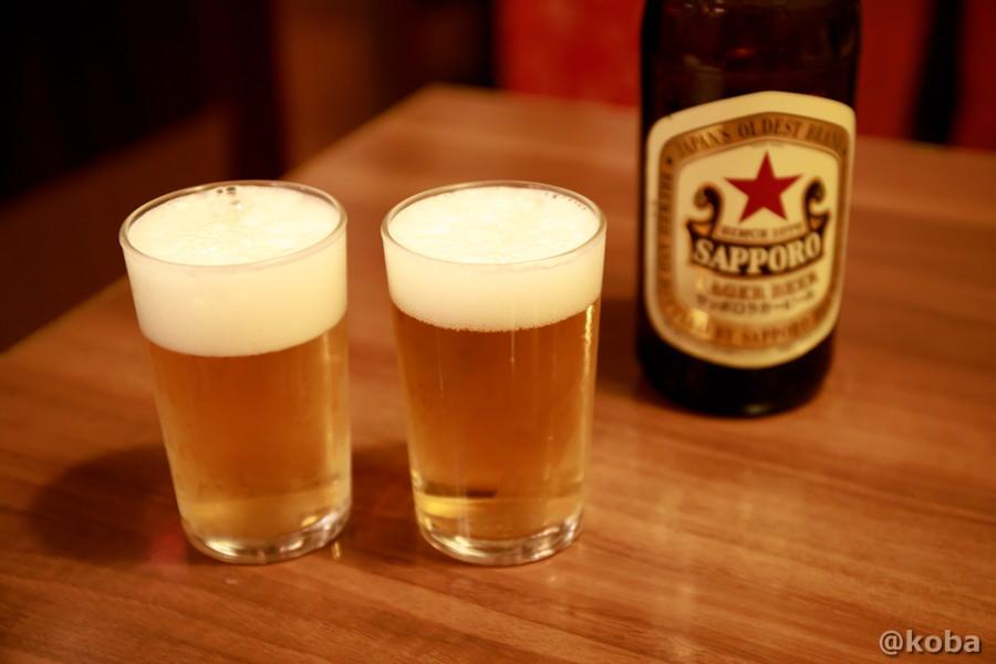 サッポロラガー 瓶ビールの写真 中国料理 大三元(だいさんげん)東京都葛飾区・新小岩駅|こばフォトブログ