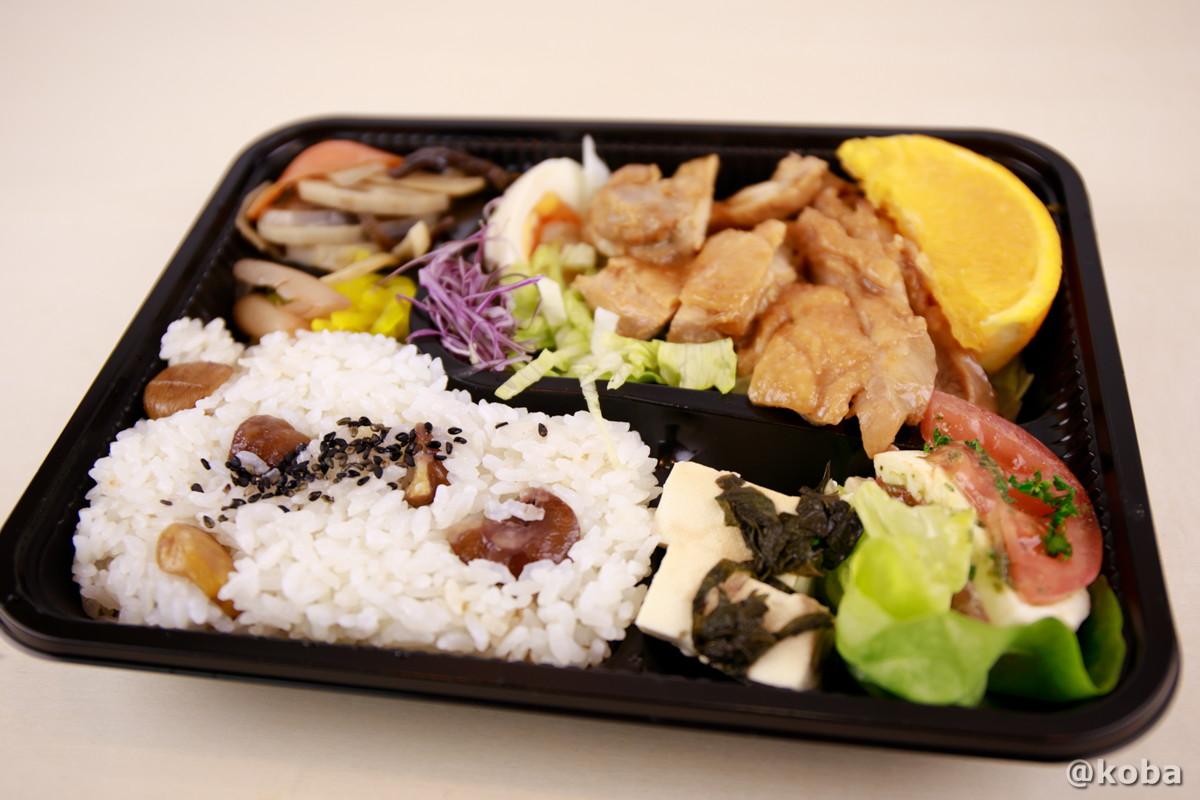 鶏みそチャーシュークリごはん弁当の写真|そらのすぷーん 定食屋 |テイクアウト お弁当|東京都葛飾区・奥戸・JR新小岩駅|こばフォトブログ