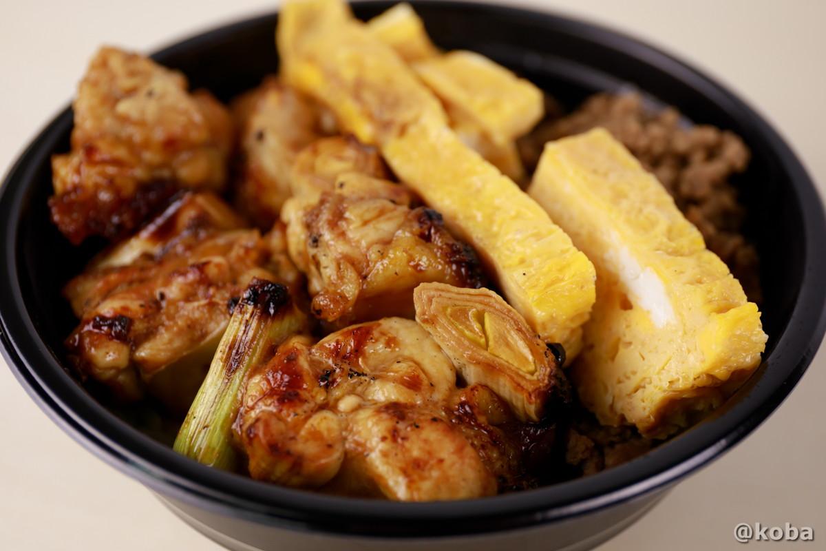 焼き鳥丼の写真|玉寿司(たまずし)テイクアウト ランチ|東京都葛飾区・新小岩|こばフォトブログ