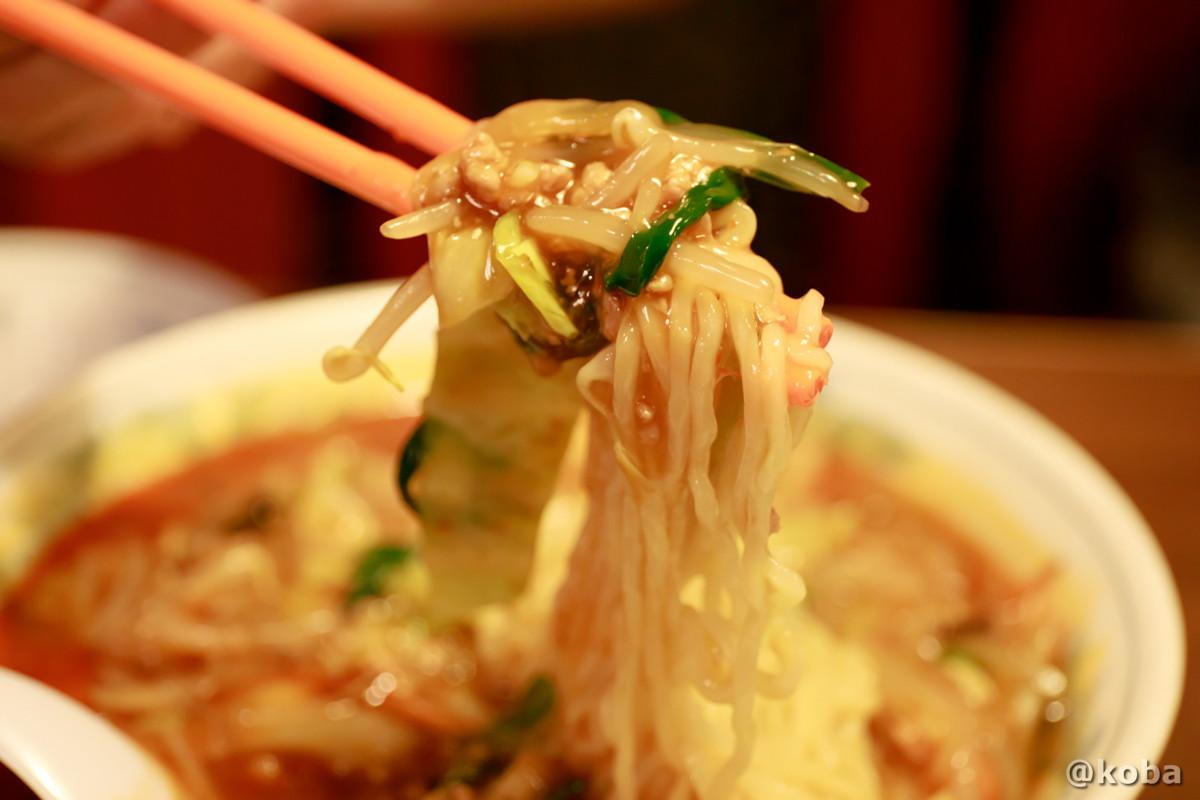 野菜たっぷりスタミナソバの麺 中国料理 大三元(だいさんげん)東京都葛飾区・新小岩駅|こばフォトブログ