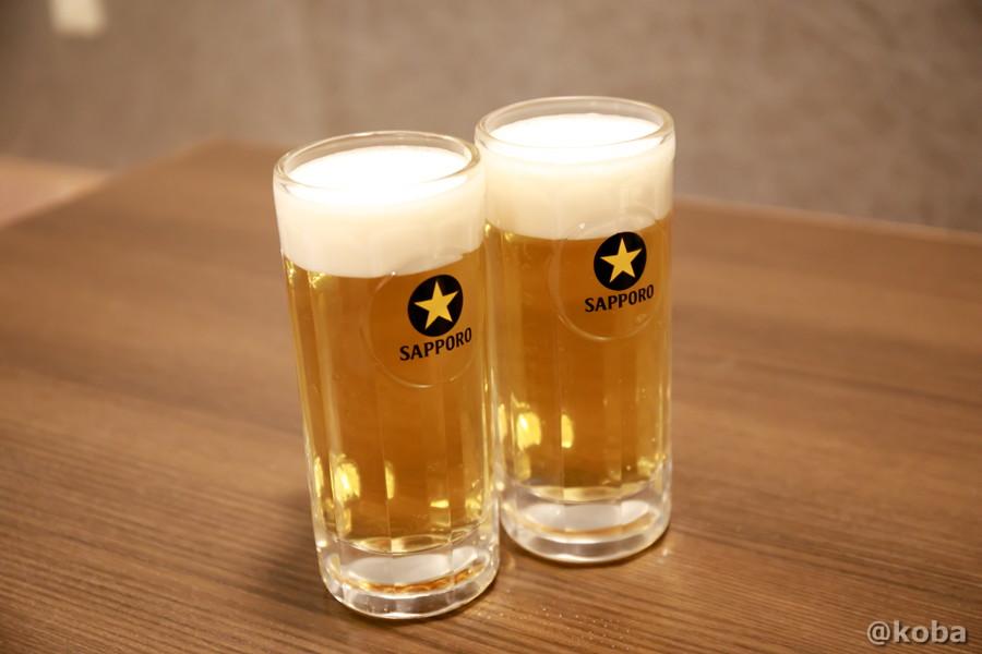 サッポロ黒ラベル生ビールの写真 彩波(いろは)居酒屋 東京都葛飾区・新小岩 こばフォトブログ
