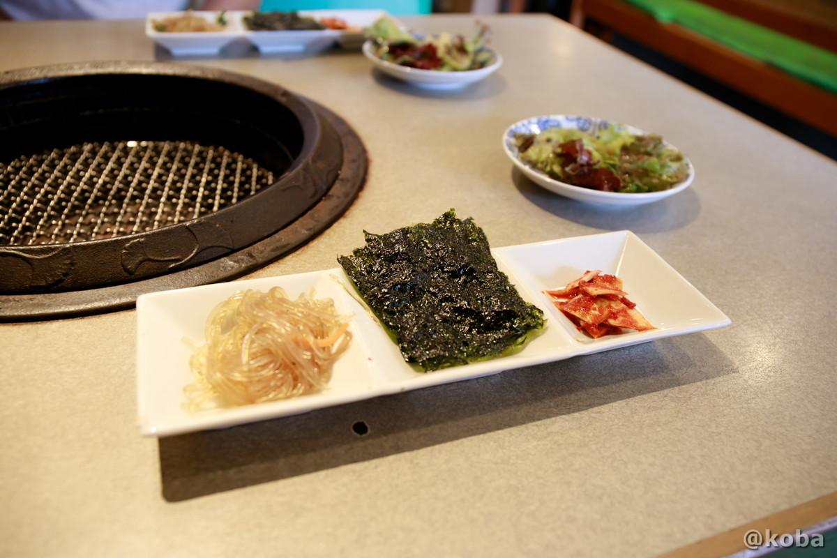 キムチ,サラダの写真|南山(NAMSAN なんさん)|焼肉料理 Yakiniku|東京都葛飾区・堀切菖蒲園駅|こばフォトブログ