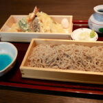 堀切菖蒲園「天せいろが食べたくて」手打ち蕎麦 人と木