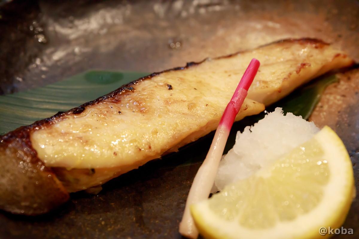 銀ダラ焼き(ぎんだら)の写真|玉寿司(たまずし)shinkoiwa tamazushi鮨ランチ|東京都葛飾区・新小岩|こばブログ